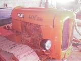 Trattore cingolato Fiat 411c montagna