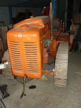 Trattore cingolato Fiat 600 25c petrolio con apripista