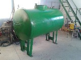Cisterna  Acciaio 1050 lt