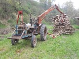 Trattore Fordson major  592 e con caricatore forestale sva