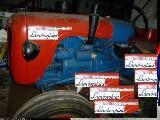 Trattore d'epoca Lamborghini Dl 25 diesel