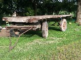 Carro agricolo  Con pianale in legno