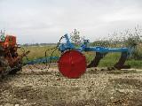 Aratro  Gherardi bivomere idraulico carrellato