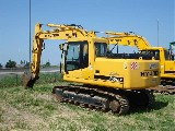 Escavatore cingolato  Hyundai r160lc-7