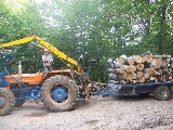 Trattore forestale Om 850