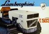 Trattore cingolato Lamborghini 503 cll