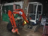Mini escavatore Kubota Kx036