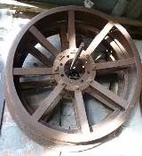 Due ruote anteriori in ferro  Bubba l05
