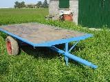 Rimorchio agricolo  2 ruote