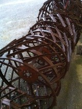 Ruote  A gabbia in ferro