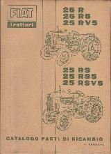 Catalogo parti ricambio Fiat 25 r e derivati