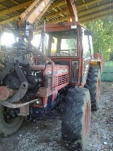 Trattore forestale Same Centauro 70 con attrezzature
