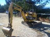 Mini escavatore  Pc 15 r komatsu