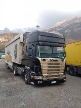 Camion  Scania 164l