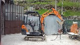 Mini escavatore Fiat Zaxis 16 hitachi