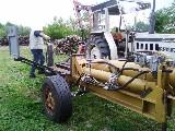 Spaccatronchi  Artigianale idraulica da 30 tonnellate