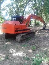 Escavatore cingolato  Fh120 hitachi