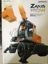 Escavatore gommato  Zx130wt hitachi