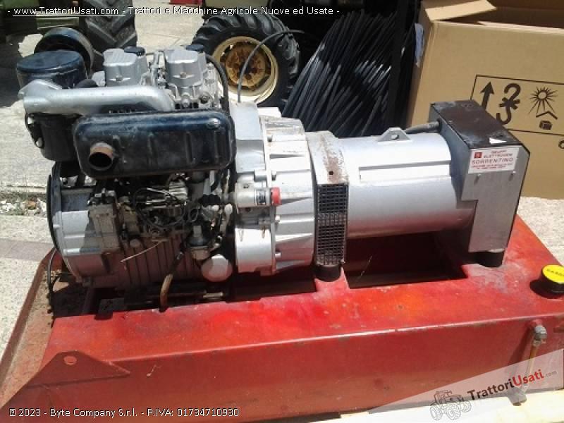 Gruppo elettrogeno mecc alte diesel 6 5 kw for Gruppo elettrogeno diesel 10 kw