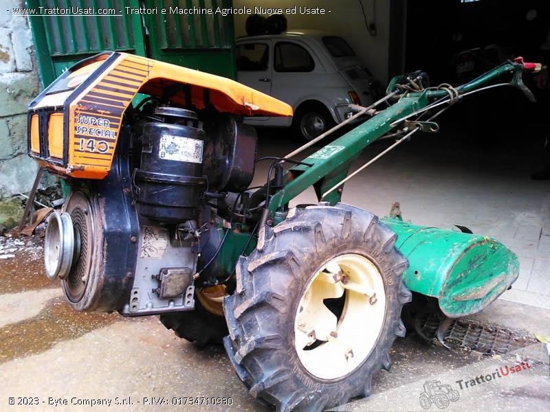 Motocoltivatore Diesel 14 Cv Goldoni Special Usato | Jongose Ninja