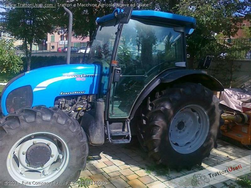 Trattore landini power farm 60 for Cavalli in vendita in trentino