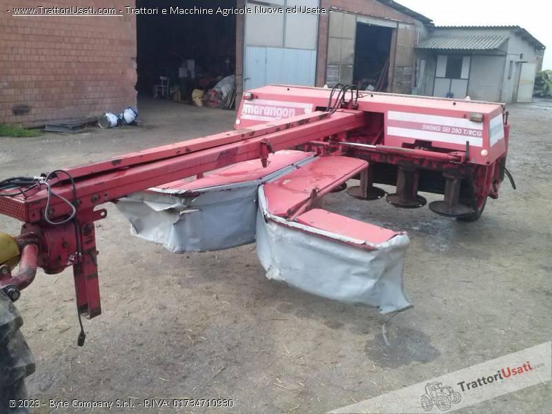 Foto falciacondizionatrice marangon swing sei - Swing condizionatore ...