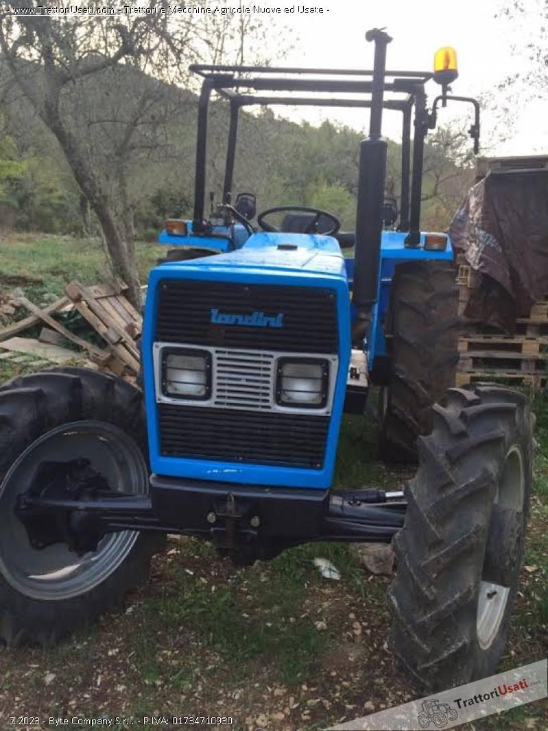 Trattore landini 5500 4rm for Vendita trattori usati lazio