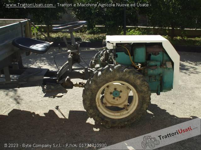 Motocoltivatore Bertolini - con rimorchio