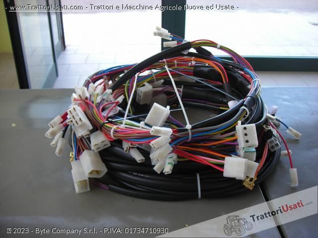 Impianto Elettrico - per Cingolati Fiat 605