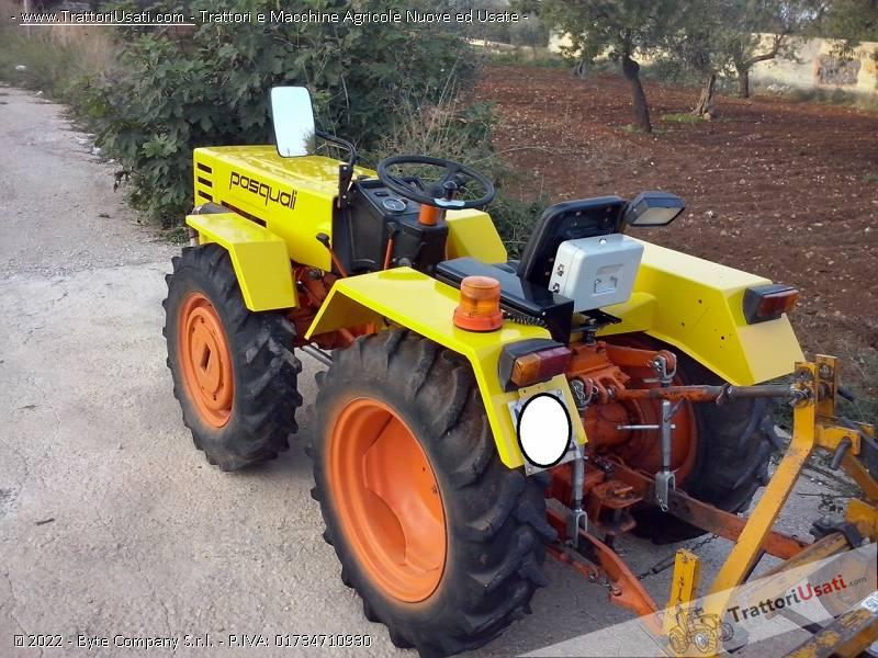 motocoltivatore pasquali 946 usato aratura con