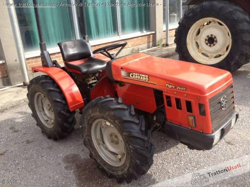 Trattore carraro a tigre 2600 trattori usati html autos for Forum trattori carraro