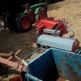 Foto 2 Trattore pasquali - 988 con aratro, fresa, trincia, botte