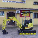 Foto 1 Mini escavatore yanmar - vio 17