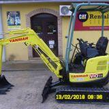 Foto 5 Mini escavatore yanmar - vio 17