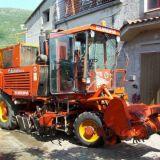 Scavabietole  Barigelli euro bifila 4 ruote