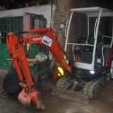 Mini escavatore Kubota Kx036