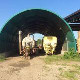 Tunnel autoportato  Con lastre prefabbricate
