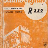 Libretto originale Lamborghini R 230