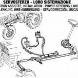 Kit servosterzo  trattore