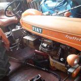 Trattore d'epoca Fiat 221 r la piccola