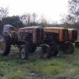 3 trattori d'epoca Fiat 211 r la piccola