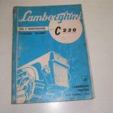 Copia manuale uso Lamborghini C230