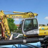 Escavatore gommato New holland Mh plus c 169 wy