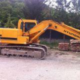 Escavatore cingolato  R140lc-7 hyundai