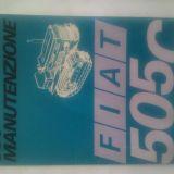Libretto Fiat Uso e manutenzione 505c montagna