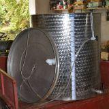 Botte in acciaio  Inossidabile 400 litri