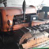 Trattore cingolato Fiat 451 montagna