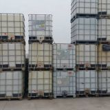 Cisterne plastica  1000 lt con gabbia
