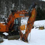 Escavatore  140 lcr doosan