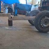 Carrello traino artigianale  Traino motocoltivatore o trattorino